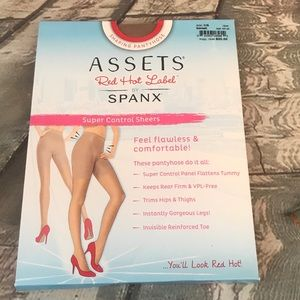 Assets Red Hot Label by Spanx Barest Shaping Hose